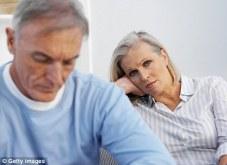 a worried couple